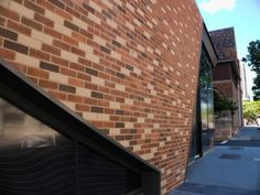 Bricks are going up everywhere in Brisbane, its almost like architects are trying to better each other lol. Brisbane Architecture, Construction Sector, Bricks, Exterior Design, Architects, Australia, Places, Outdoor Decor, Travel