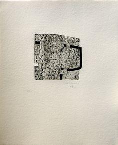 Etching - Eduardo Chillida - Indetenible quietud 4