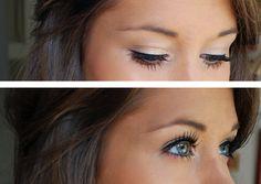 Love the eyeliner <3