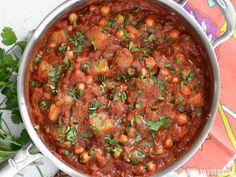 Chana Aloo Masala (Chickpea and Potato Masala) - Budget Bytes