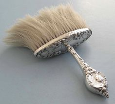 Sterling Silver Bonnet Brush, 1900, by Foster & Bailey