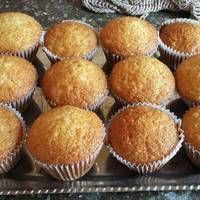 Banana Cupcakes, Flan, Scones, Cake Recipes, Recipies, Good Food, Food And Drink, Veggies, Cookies