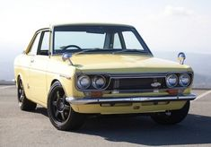1970 Datsun Bluebird SSS Coupe <- Nothing cooler than a tastefully upgraded old lightweight econobox. Would be cool to take this one out with some first-gen GTIs.
