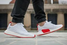 NMD_R2 White/Red