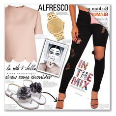 """Women's Fashion::Alfresco 1/1"" by gheto-life ❤ liked on Polyvore featuring Valentino and Nixon"