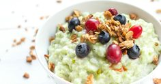 Matcha Green Tea Oatmeal is warm, comforting, and delicious. This Matcha breakfast bowl is packed with antioxidants, and is like a power punch!