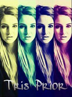 Shailene Woodley as Tris Prior in Divergent <3