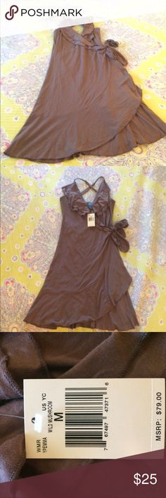 Summer 👗 Just in time for summer pretty drown guess dress size medium so cute sexy and more😍😍😍😍 Guess Dresses Mini