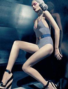 Editorial: Nimue Smit by Sebastian Kim for Numéro #122