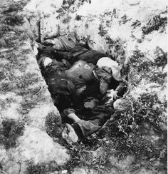 Красноармейцы и мирные жители, расстрелянные немцами под Минском