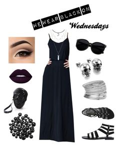 """""""We Wear Black on Wednesdays"""" by stephanie-in-love on Polyvore featuring Miss Selfridge and under100"""
