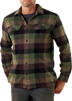 Patagonia Fjord Flannel Shirt: truly one of my favorite shirts that I own!!!