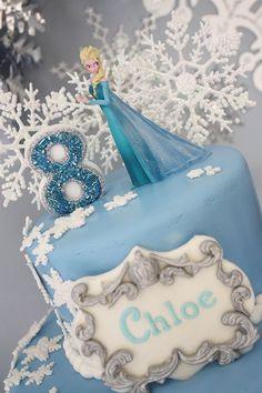 Frozen Birthday Cake Topper