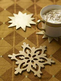 Holding Power: Holiday Coasters