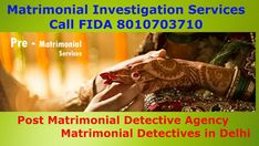 Marriage is a life-long relationship. But in today's fast-changing world where marriages, which were earlier believed to be made by Go. Detective Agency, Long Relationship, Investigations, Marriage, Life, Valentines Day Weddings, Study, Weddings, Mariage
