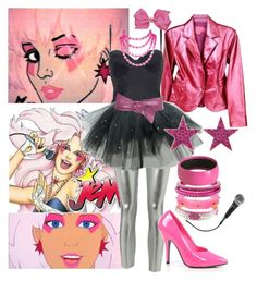 """Jem "" by hellocrystal ❤ liked on Polyvore featuring JEM, Dorothy Perkins, Mark Davis, Wet Seal, Tarina Tarantino and Forever 21"