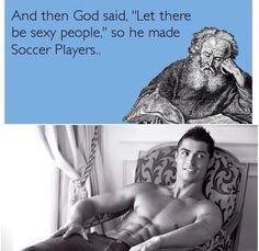 Funny soccer! Lol. Cristiano Ronaldo