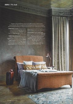 """Homes & Gardens March 2014 """"Sing"""" and """"Madama Butterfly"""" featured in copper tones shoot."""