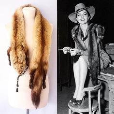 Feel inspired by the wonderful Ava Gardner and grab our vintage blonde marten stole 👌 -------------------------------------------- £30 -------------------------------------------- https://www.etsy.com/uk/listing/467224389/vintage-light-brownblonde-marten-stole?ref=shop_home_active_24 -------------------------------------------- #vintage #vintagefashion #vintagestyle #1930s #1930sfashion #1940s #1940sfashion #fur#taxidermy #inspiration #hollywoodglamour #photooftheday #friday #fashion…