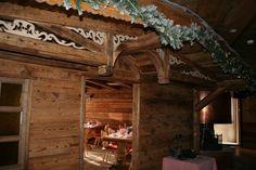 Finta casetta in legno
