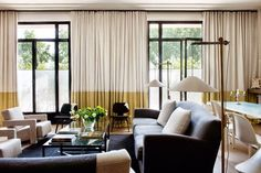 Contemporary living room by Andrée Putman. #interiordesign #luxuryfurniture. For More News: www.bocadolobo.com