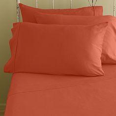 "SRP Linen 400-Thread-Count 100%Egyptian Cotton Italian Finish 4-pc Soft Bed Sheet Set with 18"" Deep Pocket Solid ( King/ Standard or Eastern King , Orange ) SRP Linen http://www.amazon.com/dp/B00OFRSGTQ/ref=cm_sw_r_pi_dp_oGK8ub10K61MB"