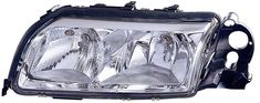 Volvo S80 04-06 Headlight Assembly LH USA Driver Side Chrome With PL