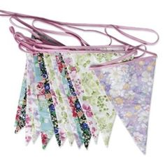 English Garden Party Bunting By Inside Out Living