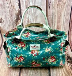 Original Cath Kidston handbag - as new. floral design with one main pocket with small zip up pocket on side & 2 end snap up pouches. Cash on collection. Cath Kidston Handbags, Cath Kidston London, Rose Oil, Bag Sale, Hand Bags, My Ebay, Diaper Bag, Zip Ups, Floral Design