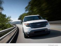 The 2017 Ford® Explorer Sport SUV boasts EcoBoost®, Intelligent machined aluminum wheels with painted pockets and much more. White Ford Explorer, 2014 Ford Explorer Sport, Ford Explorer Limited, Ford Explorer Xlt, Used Pickup Trucks, Chevy Trucks, Ford Police, Lexus Gx, Sport Trac