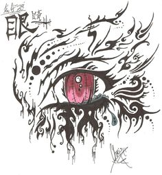 anime drawings | tribal crying anime eye by ~IrkendroneZerk on deviantART