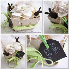 beadsdesign     ♥♥♥♥    love: Berry Basket als Osterkörbchen