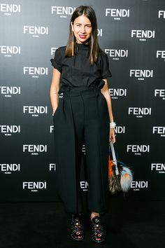 Natasha Goldenberg at the #FendiMoscow opening on May 26, 2016