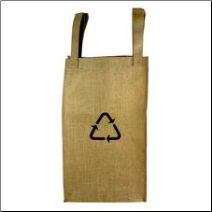 burlap recycle bag