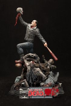 With a twisted sense of humor and a love of power games, Negan has become one of the most feared and respected characters in the fan-favorite and New York Times Best Selling series The Walking Dead. This statue captures the embodiment of his character– lording over his foes crushed beneath him. This foul-mouthed, egotistical badass stands …