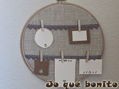 Embroidery Hoop Crafts Fabric Scraps Stitches Ideas For 2019 Diy Mini Embroidery Hoop, Embroidery Works, Machine Embroidery Patterns, Diy Home Crafts, Crafts To Make, Fabric Scraps, Sewing Projects, Stitch, Design