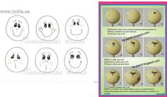 Ojos Para Fofuchas and post Ojos Para Fofuchas | MyCelular.Org Foam Crafts, Crafts To Make, Diy Crafts, Drawing Heads, Painting & Drawing, Doll Repaint, Soft Dolls, Cold Porcelain, Learn To Paint