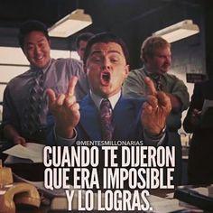 Jajajajaja dime que no puedo y encontraré mil razones para lograrlo!  #emprendedores #negocios #logros by vico_cortez