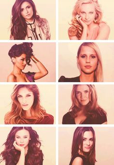 The girls from TVD