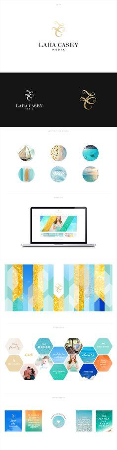 Brand Identity and custom site for Lara Casey http://laracasey.com #flosites #floagency #interactive #layouts #design #typography #brandidentity