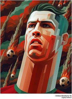Cristiano Ronaldo #MundialBrasil Illustration/Painting/Drawing inspiration