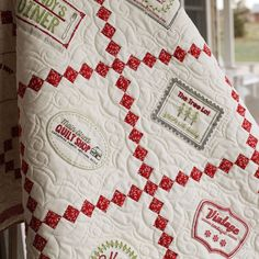 Sweetwater's new Block of The Month using Holly's Tree Farm!