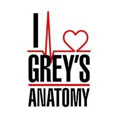 Shop I love Grey's Anatomy i love greys anatomy t-shirts designed by Brucento as well as other i love greys anatomy merchandise at TeePublic. Greys Anatomy Logo, Greys Anatomy Shirts, Greys Anatomy Funny, Greys Anatomy Cast, Grey Anatomy Quotes, Anatomy Art, Grey's Anatomy Wallpaper Iphone, Wallpaper Iphone Cute, Merideth Grey