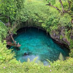 To Sua Ocean Trench, Samoa. Photo by @photography byron bay