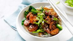Loaded+with+juicy+button+mushrooms+and+Asian+veg,+this+pork+stir-fry+has+hidden+immune-boosting+benefits.