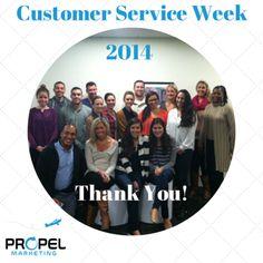 Customer Service Week 2014