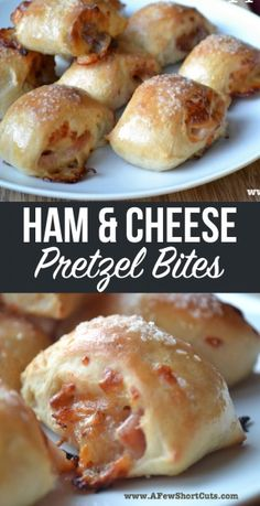 These are great for game day or any day! You have to try this Ham & Cheese Pretzel Bites Recipe. Don't let it intimidate you ...they are amazing!