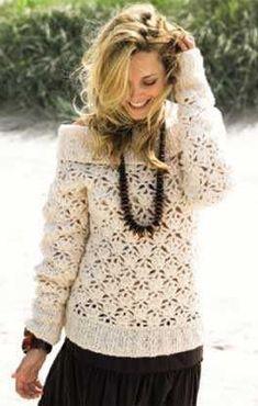 Ricco Sweater - Free Crochet Pattern - (lanagrossa):