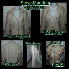 Selling this JACKET in my Poshmark closet! My username is: kfrye71. #shopmycloset #poshmark #fashion #shopping #style #forsale #Steve Madden #Jackets & Blazers