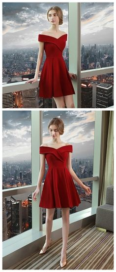 Las 791 Mejores Imágenes De Vestidos Rojos Vestidos Rojos